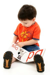 Preschool Toddler Reading Alphabet Book